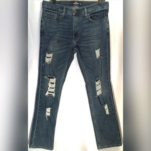 Ripped Hollister Jeans